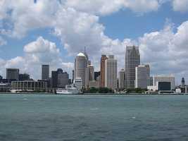 6. Detroit, Michigan