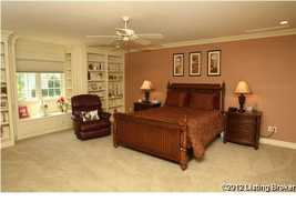 Another spacious guest room. (1 of 6 bedrooms)