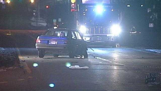 Woman killed in New Albany accident
