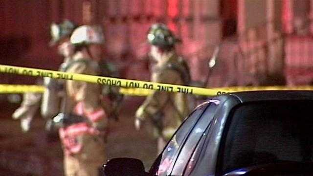 House catches fire on S. 35th Street