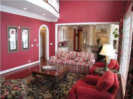 Alternative look into the formal living room.