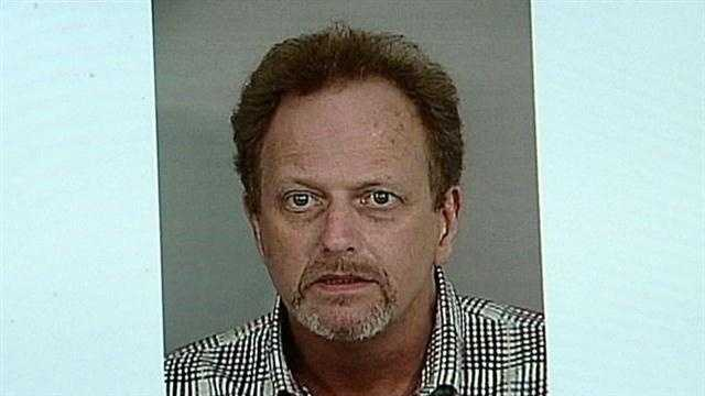 A New Albany man is in jail facing felony charges of stalking and criminal confinement.