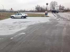 Slushy gas station near I-65