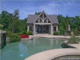 Alternate views of the pool.