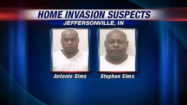 A father and son are in jail after police said they threatened a family and even pointed a gun at kids.