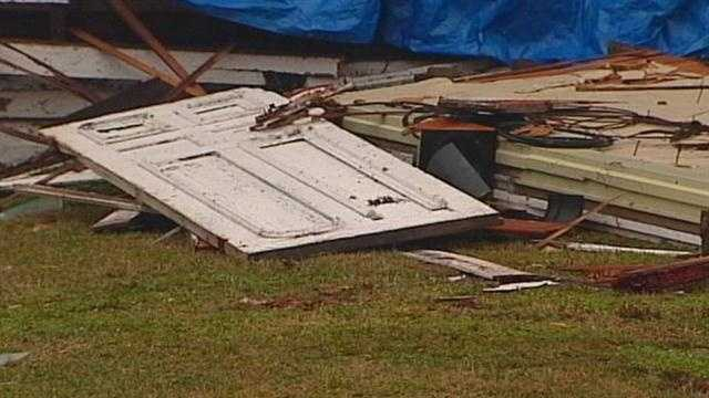 Cleanup is underway one day after tornadoes touched down in some areas