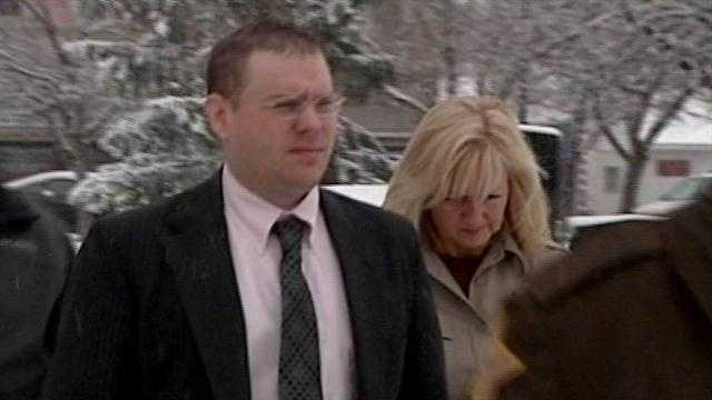 A jury is deliberating the fate of a southern Indiana man charged with killing his ex-wife in 2010.