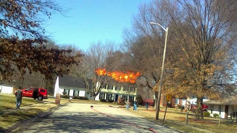 New Albany house fire Cliffwood Court