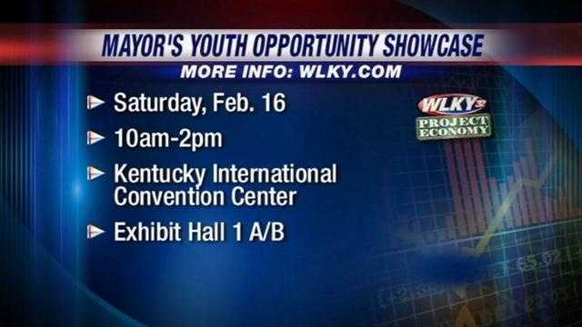 Youth opportunity showcase