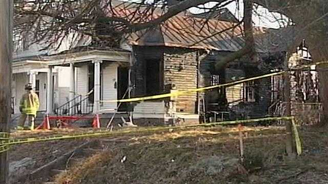 The homicide unit is investigating the death of a woman whose body was found inside a burning home on Sunday morning.