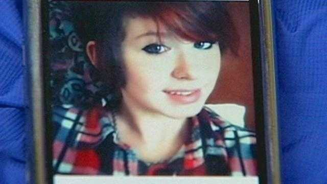 As a 17-year-old Clarksville girl was laid to rest Wednesday afternoon, the man accused of her slaying faces a judge.