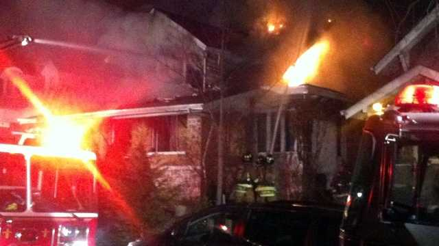 Spring Drive house fire