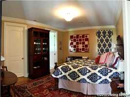 One of four beautiful bedrooms.