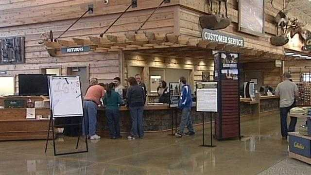 The grand opening of Cabela's is something thousands of customers across the entire region are anxiously awaiting.