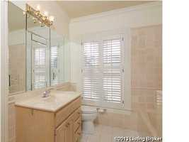 One of the remaining 3 bathrooms in the home.