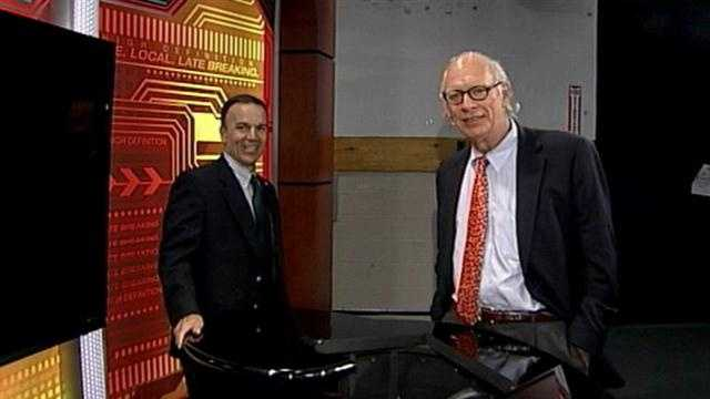 Son of WLKY co-founder visits studio