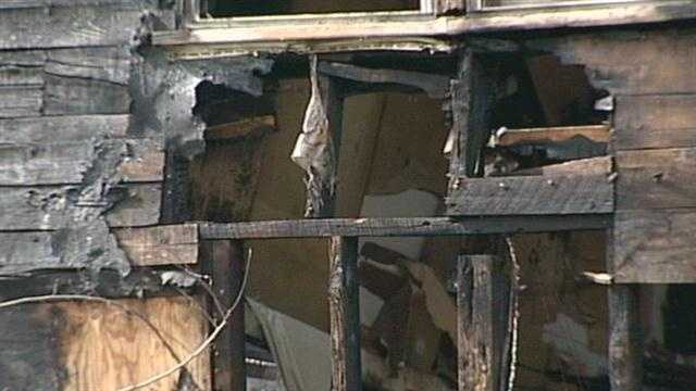 One person was killed in a house fire in Henryville on Monday morning.
