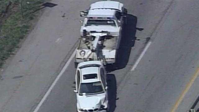 Accident  I-64 at I-71