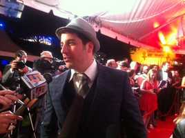 Jason Biggs at Barnstable Brown Gala