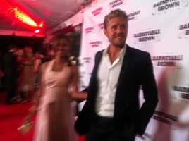 Matt Barr at Barnstable Brown Gala