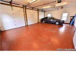 Last, but not least, there's a four car garage as well. The 10,310 Sq Ft property is a an elegant corner mansion waiting on the perfect buyer. For more information, visit Realtor.com.