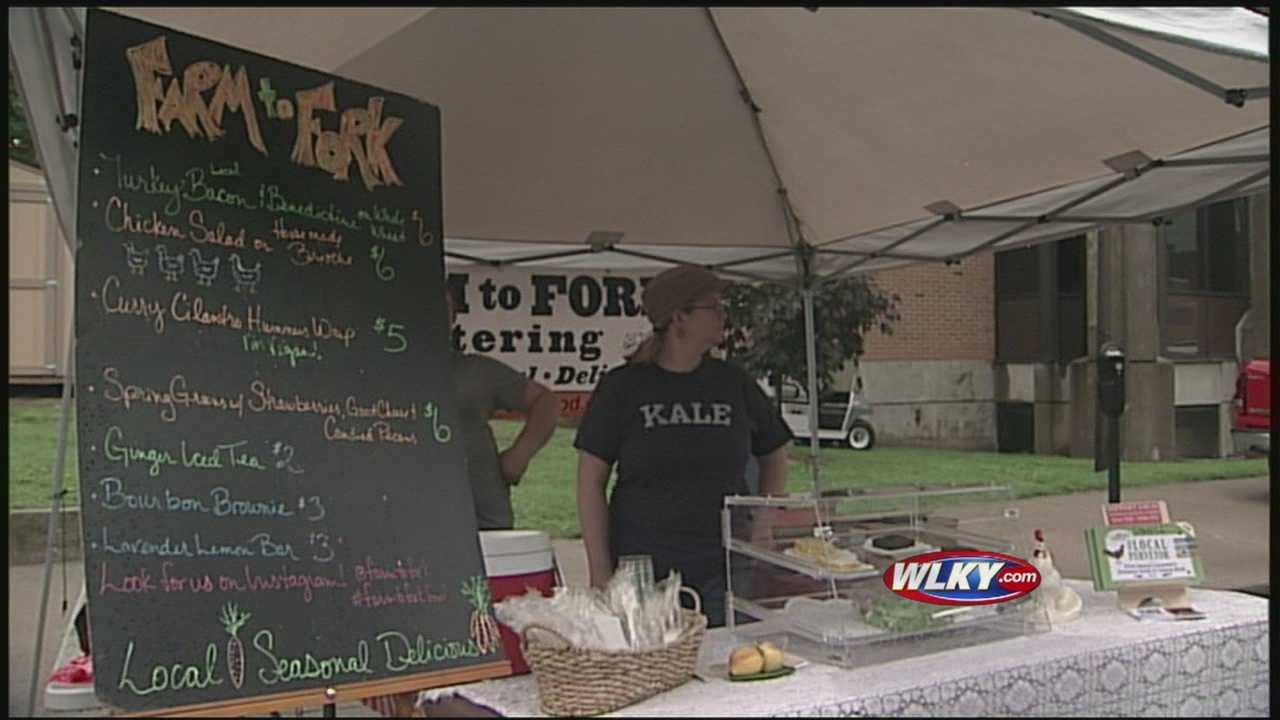 The Gray Street Farmer's Market opened Thursday morning, bringing fresh produce to local neighborhoods.