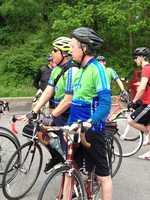 Louisville Mayor Greg Fischer participated in Bike to Work Day