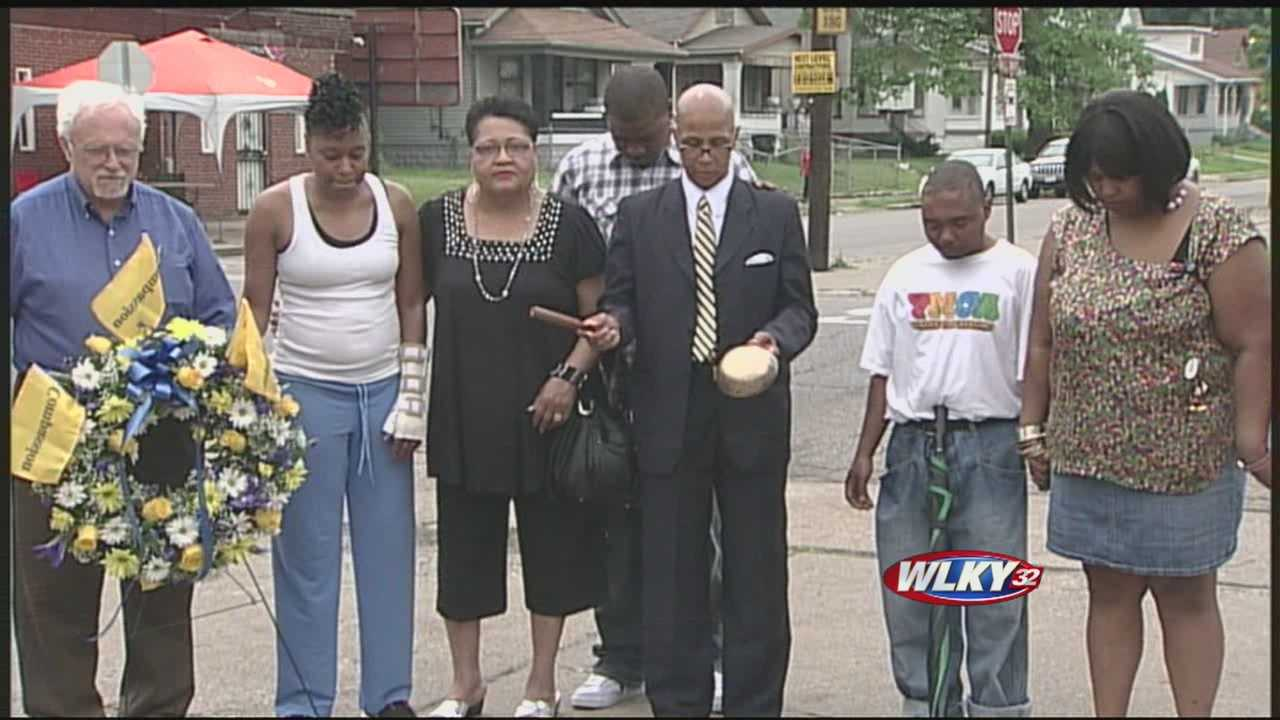 Events mark anniversary of violent day in Louisville's west end
