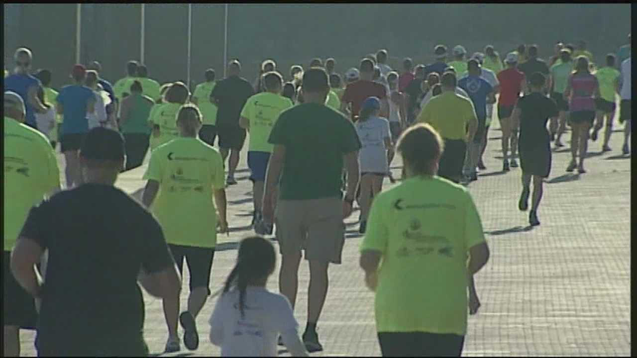 Thousands pack Waterfront Park for Hike, Bike, Paddle event