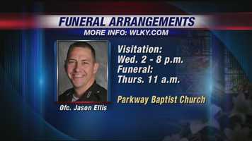 May 26, 2013: Visitation and funeral arrangements for Ellis are announced