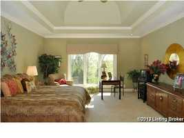 Ground level master bedroom.