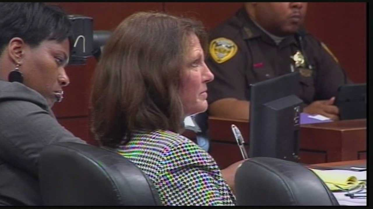 The second trial for the Louisville woman accused of burning down her Saint Matthews business to collect the insurance money started Thursday opening statements.