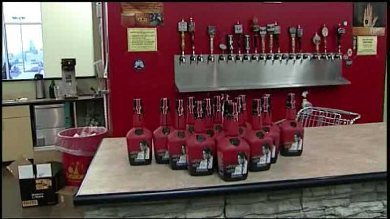 Pitino Makers Mark bottle