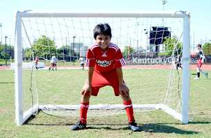 Everyone camper had a chance to learn and practice every field position in soccer.