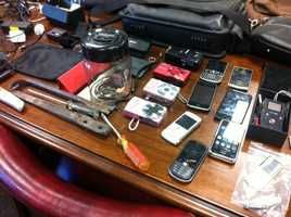 Jeffersontown police busted up a massive burglary ring and recover more than $30,000 in stolen merchandise.