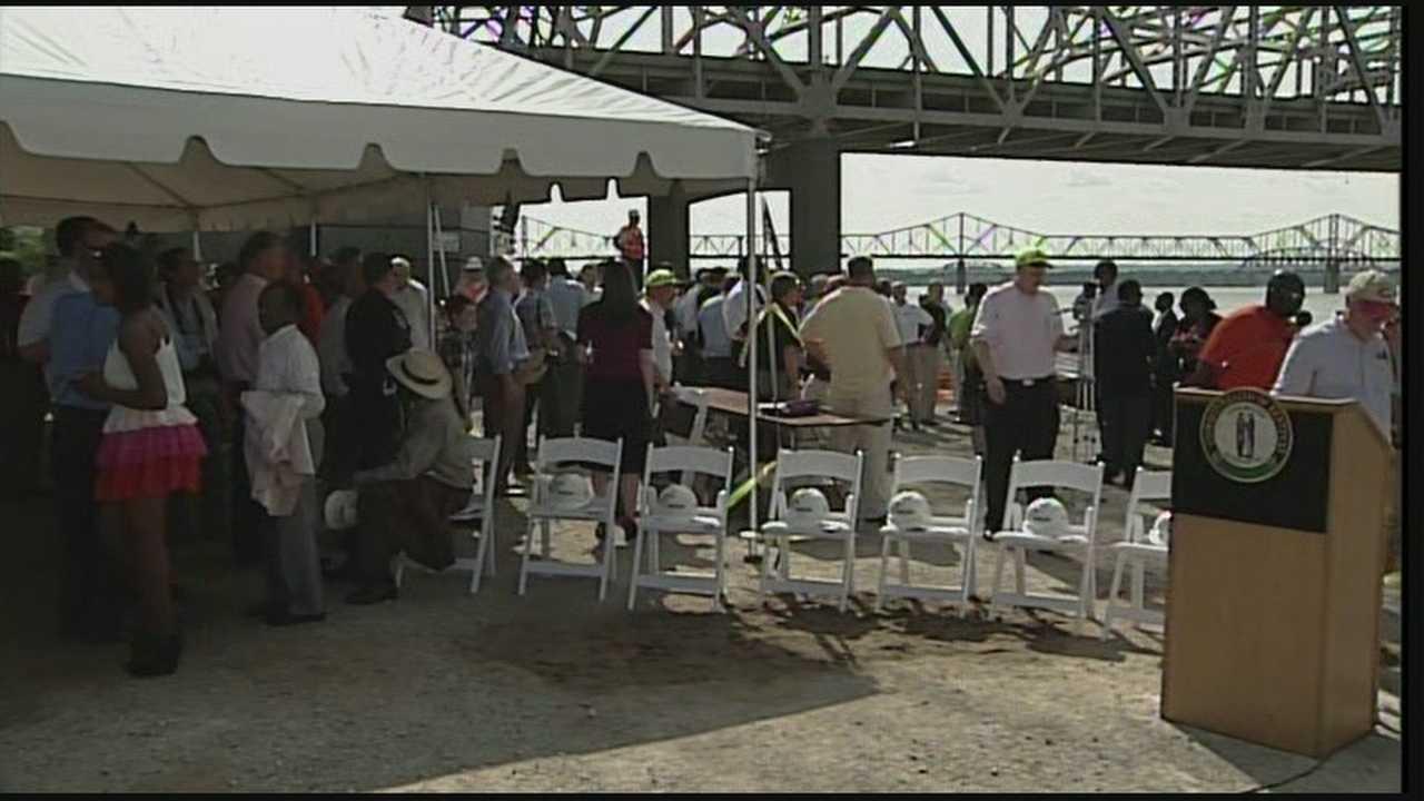 Long-awaited groundbreaking on downtown bridge Tuesday