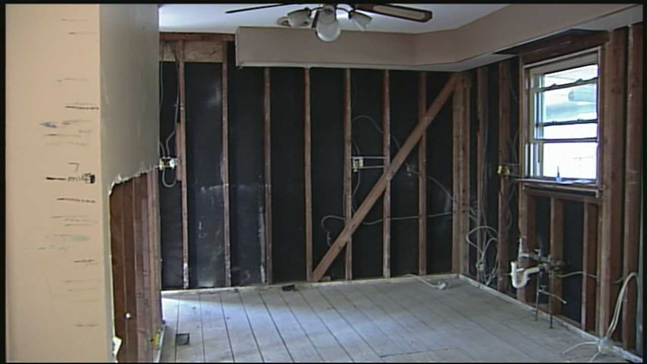 Louisville veteran getting special help to renovate his family's home