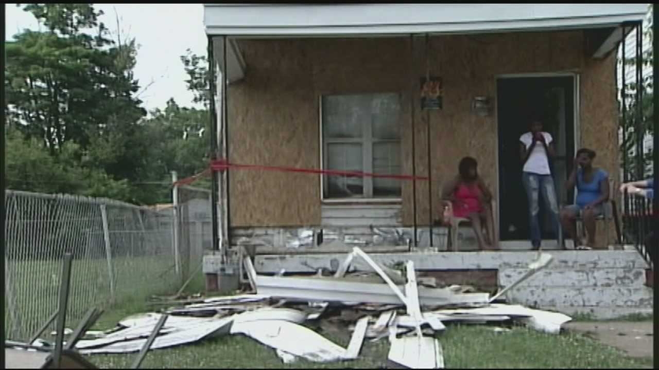 Woman speaks out after escaping early morning house fire