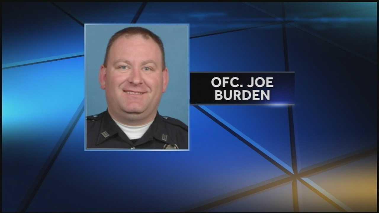 Joe Burden LMPD officer