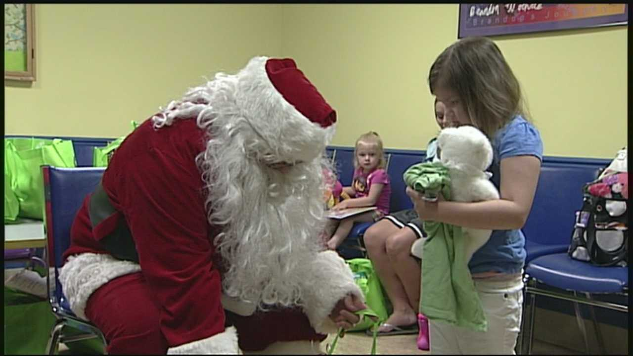 Christmas comes in July for pediatric cancer patients