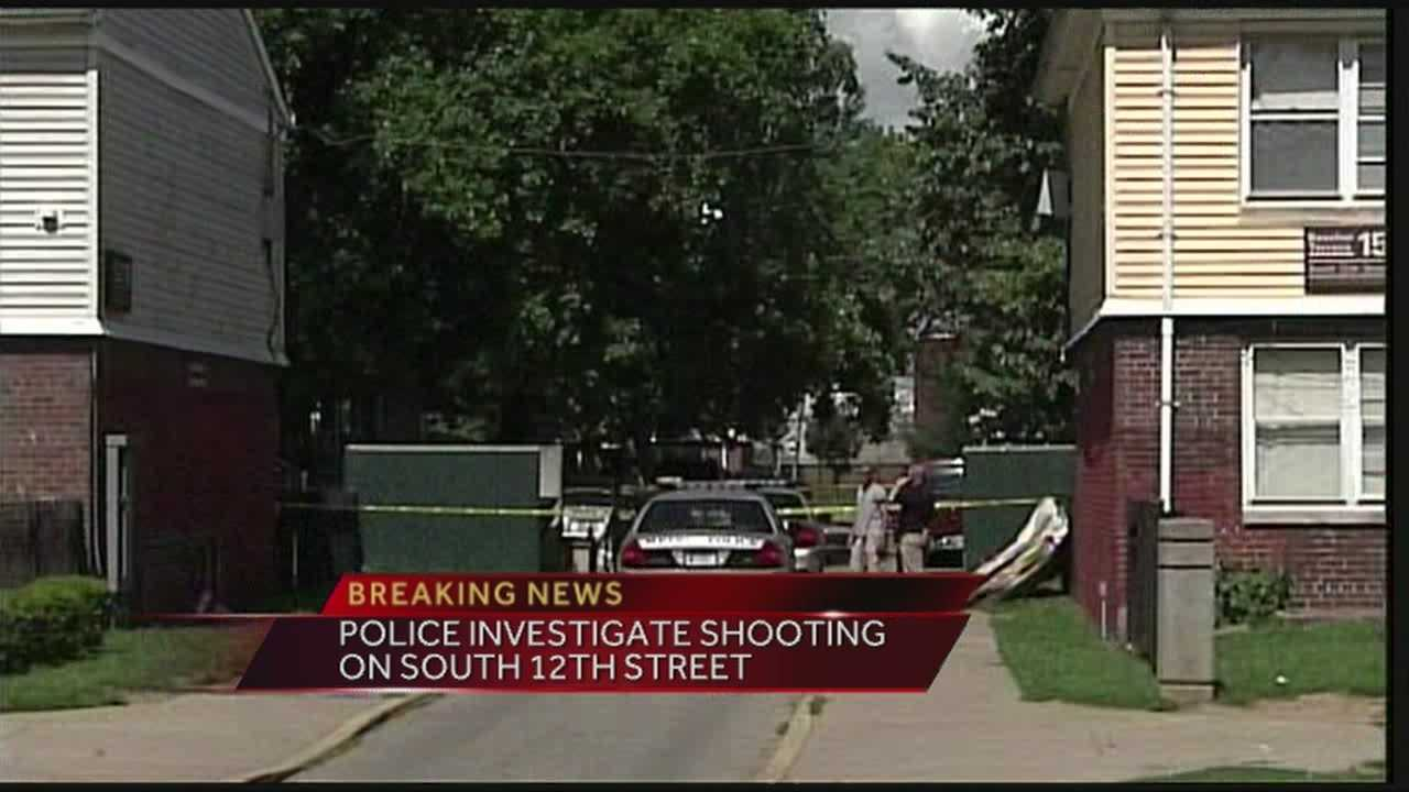 A man was transported to University of Louisville Hospital after being shot on 12th Street.