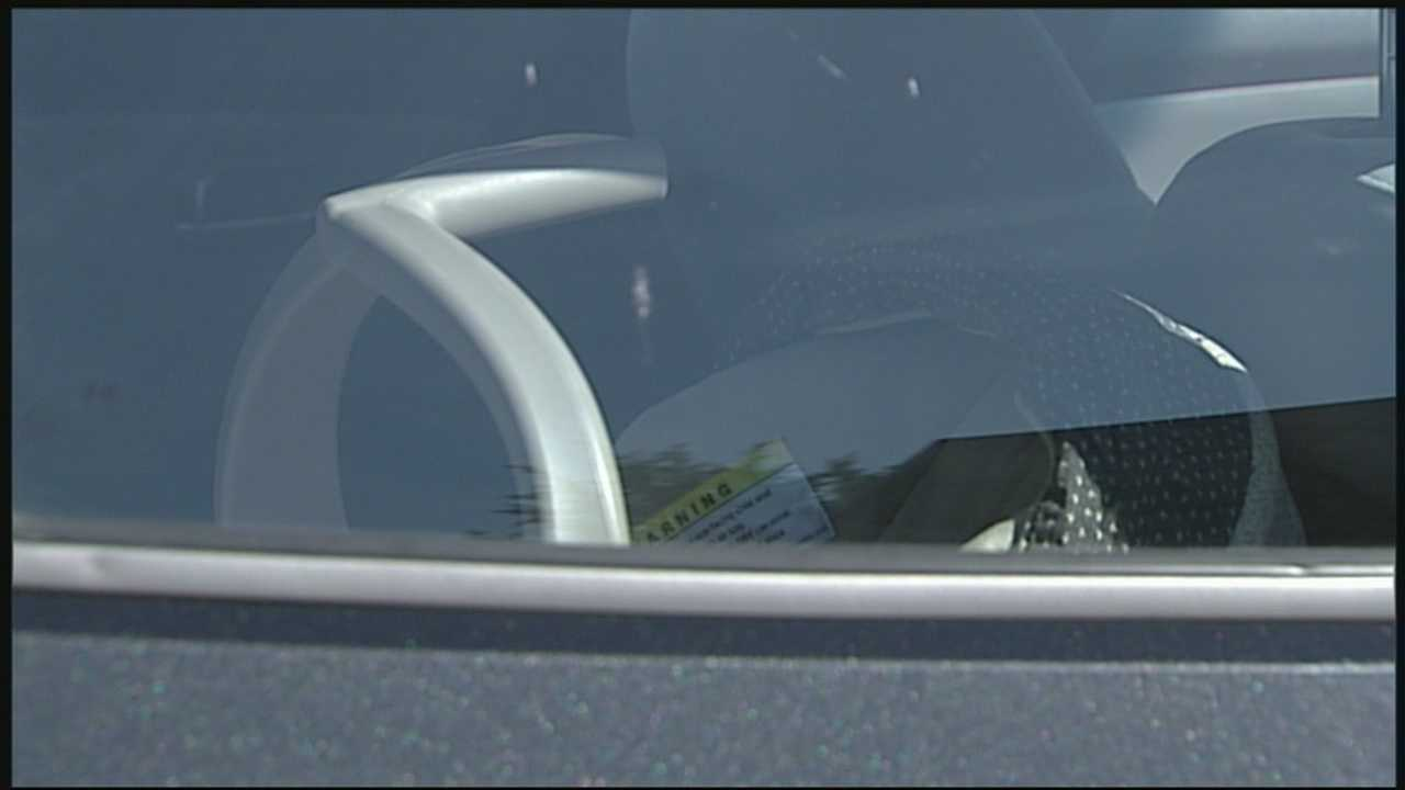 Organization demonstrates danger of kids in hot cars