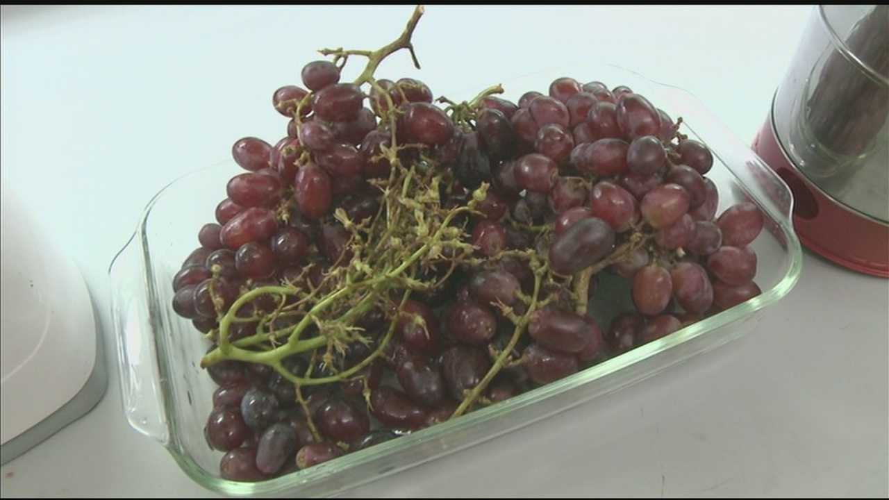 Grapes: Finding the cure in food