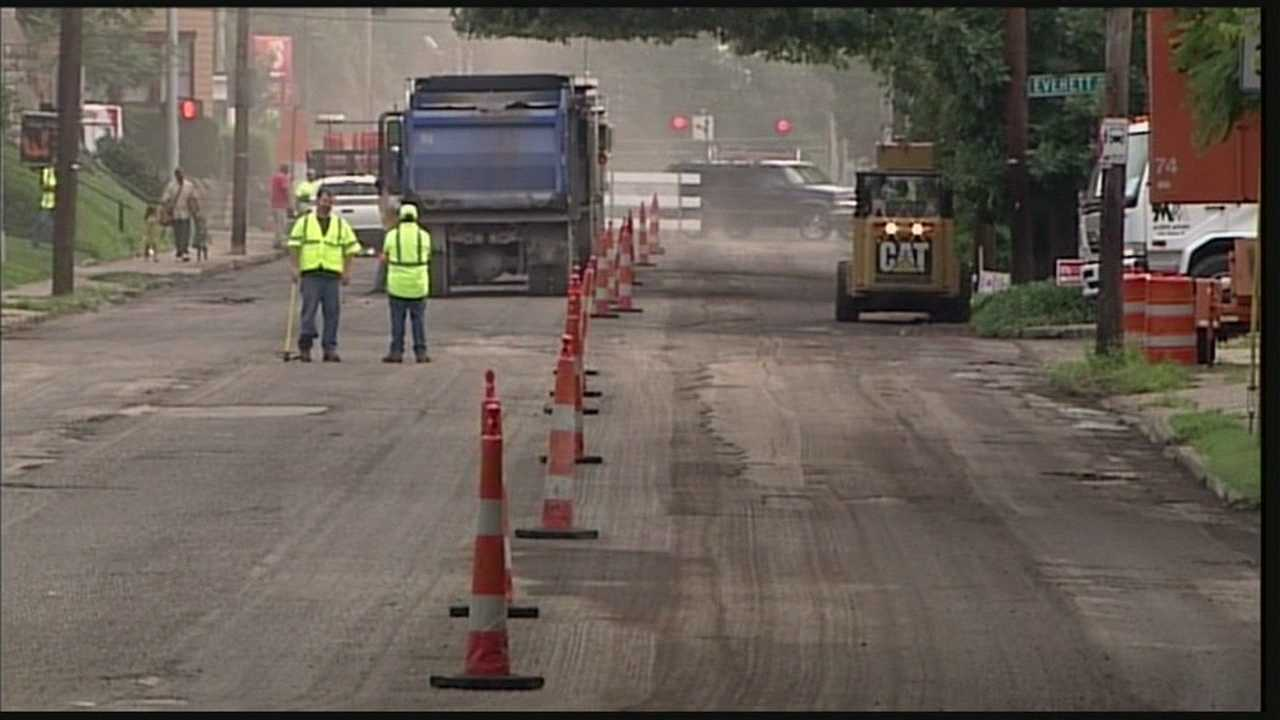 Grinstead Drive partially closed through weekend
