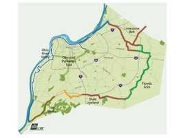 Take a bike ride through the Louisville Loop: Renown to many bikers and joggers, the Louisville Loop is over 100 miles of shared road. It surrounds the city of Louisville, and is perfect for that determined biker!Location: 1297 Trevlilian Way, Louisvlle, Ky 40213