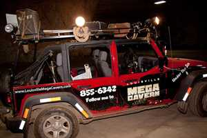 Zipline through Louisville's Mega Cavern: Louisville's Mega Cavern is the world's first and only adventure zipline tour, underground! High above the once mined limestone, participants zoom over the cavern hundreds of feet throughout the space.Location: 1841 Taylor AveLouisville, KY 40213For more information, click:http://www.louisvillemegacavern.com/about-ziplines.html