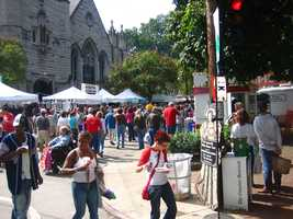 Shop St. James Art Show: It's the largest juried art show in North America. Held during the fall season, St. James is known to attract thousands of spectators and artists from around the continent.