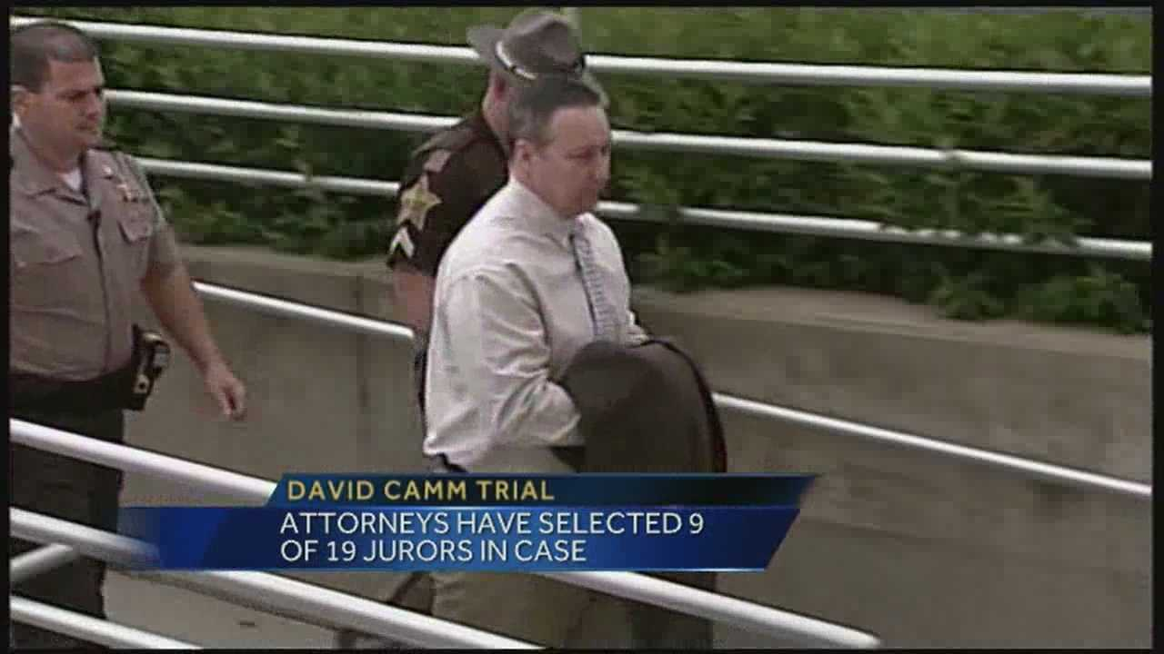 Potential juror questioning continues ahead of David Camm trial