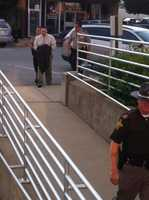 David Camm enters the courthouse on Aug. 20, 2013.