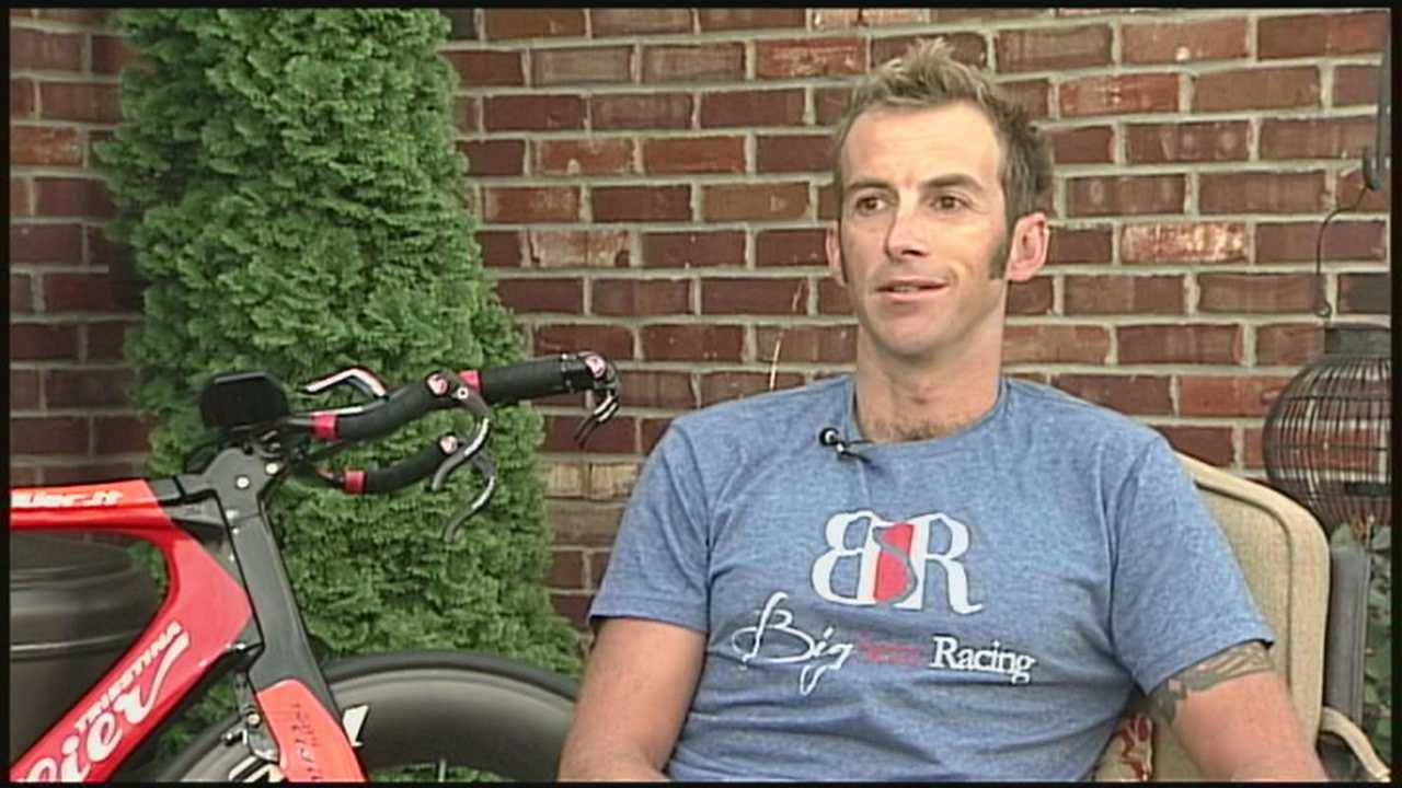 The winner of the 2007 Ironman Louisville is hoping to come out on top again this year.